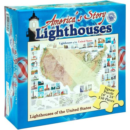Channel Craft America's Lighthouses Jigsaw Puzzle