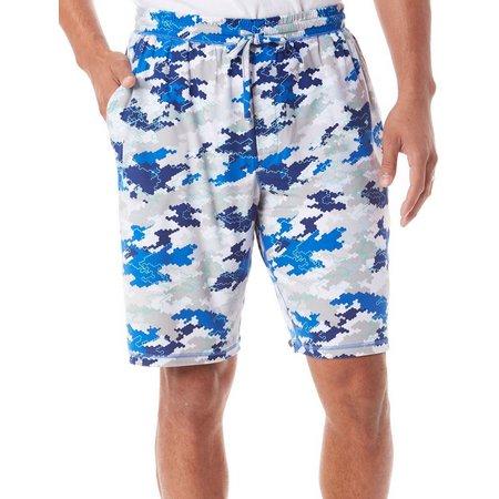 Reel Legends Mens Cyber Digi Pajama Shorts