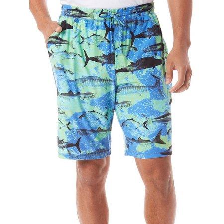 Reel Legends Mens Big Game Fish Pajama Shorts