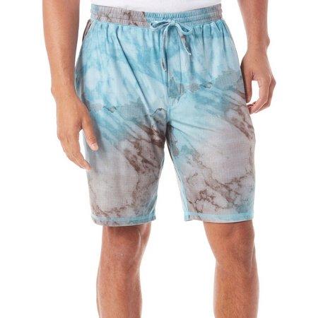 Reel Legends Mens Marble Verse Pajama Shorts