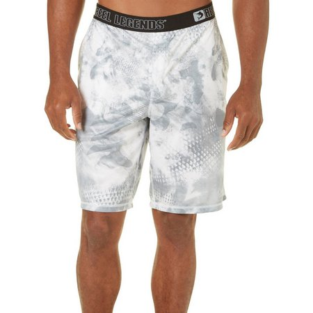 Reel Legends Mens Camo Ice Pajama Shorts