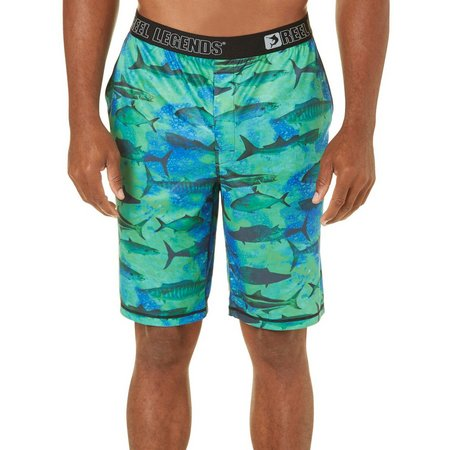Reel Legends Mens Big Game Pajama Shorts