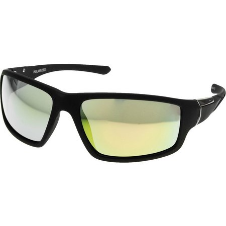 Reel Legends Mens Wrap Polarized Sunglasses