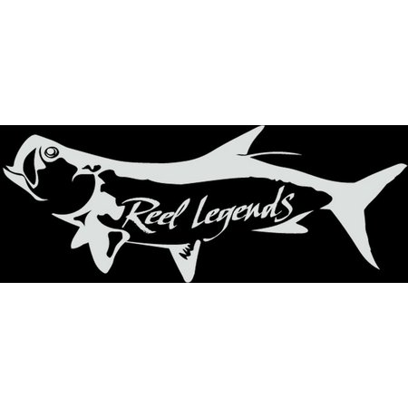 Reel Legends Tarpon Vinyl Decal