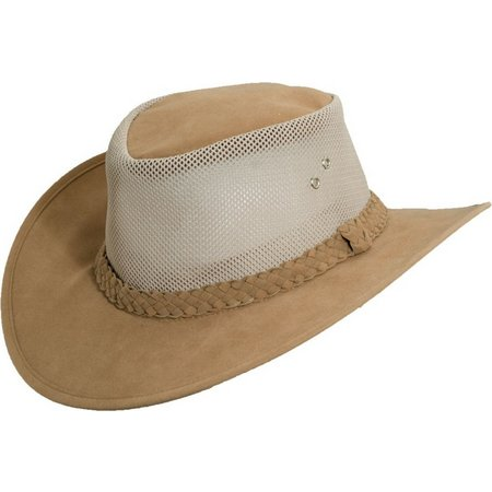 Dorfman Pacific Mens Soaker Hat With Mesh Sides