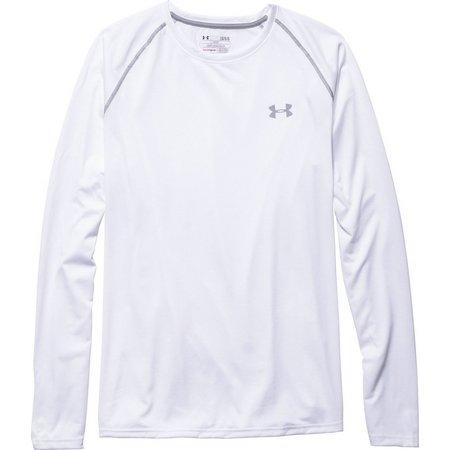Under Armour Mens UA Tech Long Sleeve T-Shirt