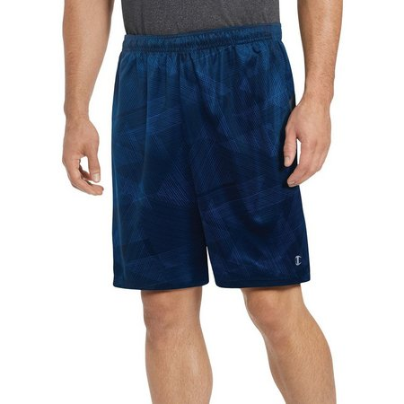 New! Champion Mens Vapor Select Triangle Print Shorts