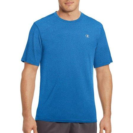New! Champion Mens Vapor Heather Stripe T-Shirt