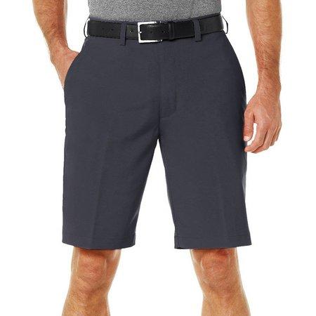 PGA TOUR Flat Front Solid Shorts