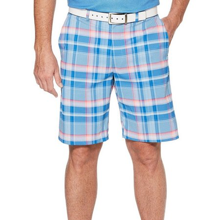 PGA Tour Mens Classic Madras Plaid Shorts