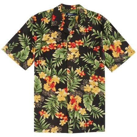 Boca Classics Mens Garden Short Sleeve Shirt