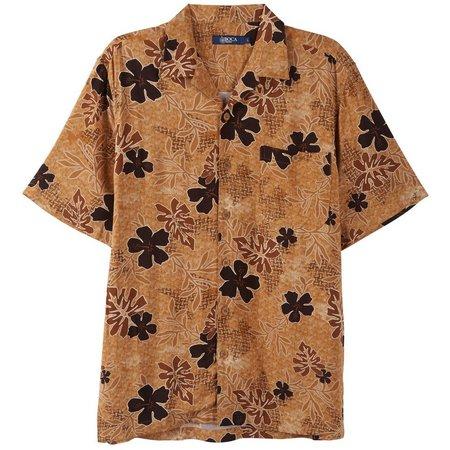 Boca Classics Mens Desert Floral Print Shirt