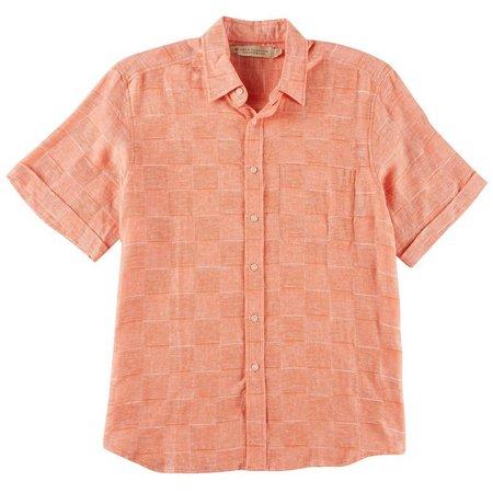 Boca Classics Islandwear Mens Square Weave Shirt