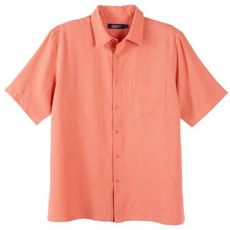 Boca Classics Mens Coral Texture Shirt