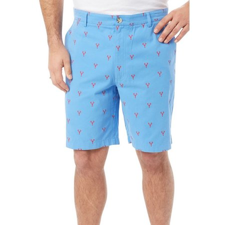 Boca Classics Mens Lobster Cell Pocket Shorts