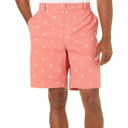 Boca Classics Mens Pineapple Cell Pocket Shorts