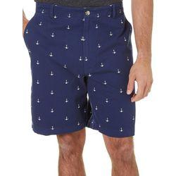 Boca Classics Mens Anchor Cell Pocket Shorts