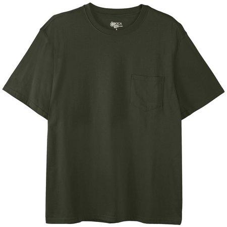 Boca Classics Mens Performance Pocket T-Shirt