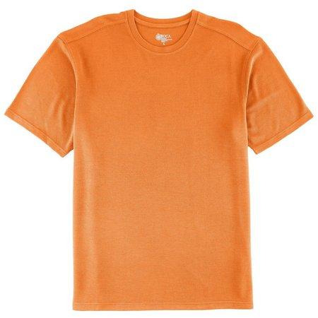 Boca Classics Mens Solid Performance T-Shirt