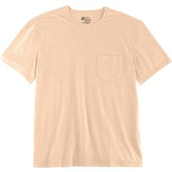 New! Boca Classics Mens Pocket Heather T-Shirt