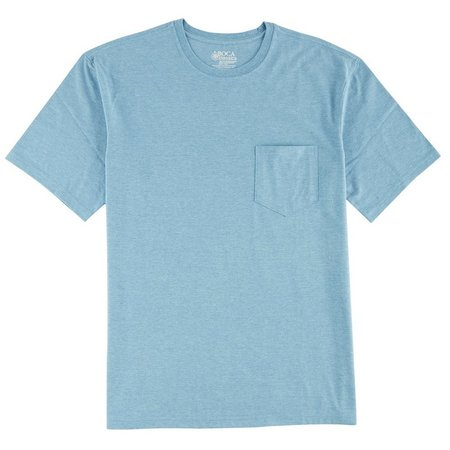 Boca Classics Mens Pocket Heather T-Shirt