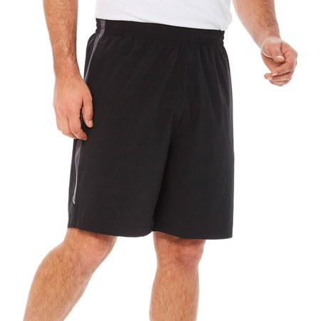 RB3 Active Mens Dark Stripe Athletic Shorts
