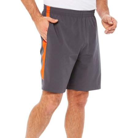 RB3 Active Mens Side Stripe Athletic Shorts