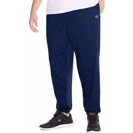 Champion Mens Big & Tall Jersey Pants
