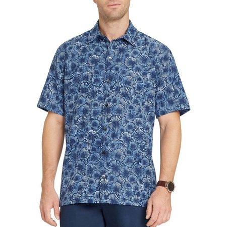 Van Heusen Mens Sunburst Short Sleeve Shirt