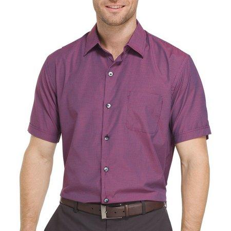 Van Heusen Mens Air Check Grid Shirt