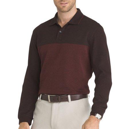 Van Heusen Mens Jasper Blocked Polo Shirt