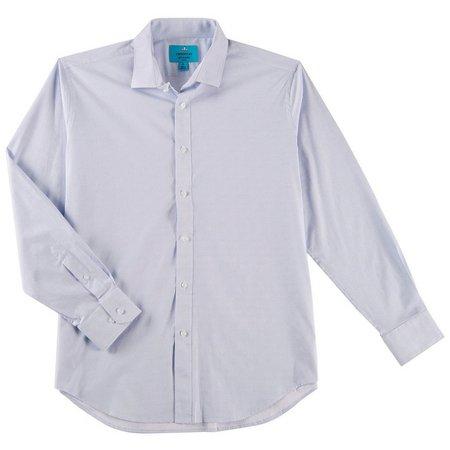 Christian Aujard Mens Mini GraphStretch Collar Shirt
