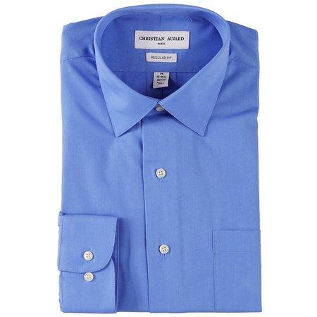 Christian Aujard Mens Stretch Collar Shirt