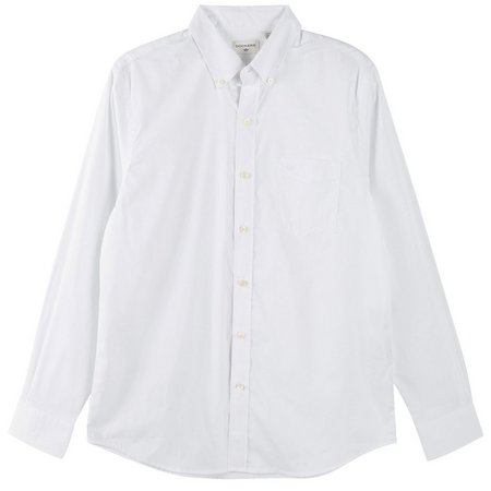 Dockers Mens Long Sleeve Paper Shirt