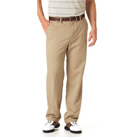 Haggar Cool 18 Performance Wear Flat Front Pants