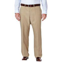 Haggar Mens Big & Tall Cool 18 Pants