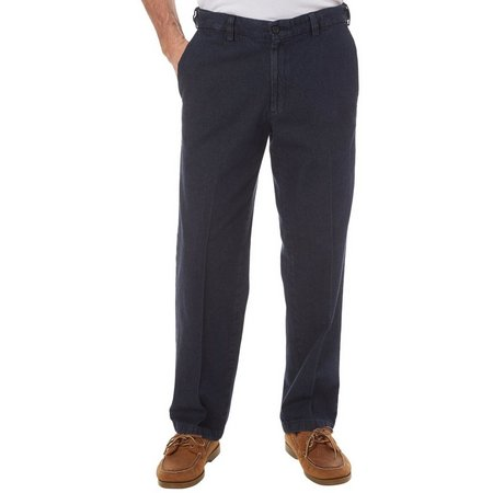 Haggar Work-to-Weekend™ Flat Front Pants