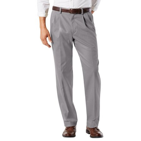 Dockers Mens Easy Khaki Classic Pleated Pants