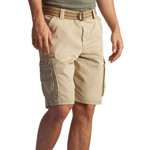 Lee Mens Dungarees Belted Wyoming Cargo Shorts Bealls