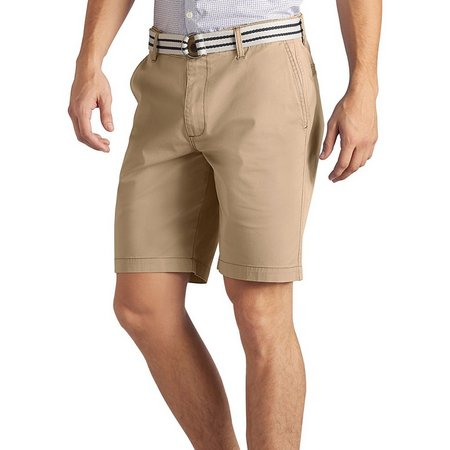 Lee Mens Flat Front Walker Shorts