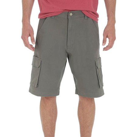 Genuine Wrangler Mens Tampa Solid Cargo Shorts