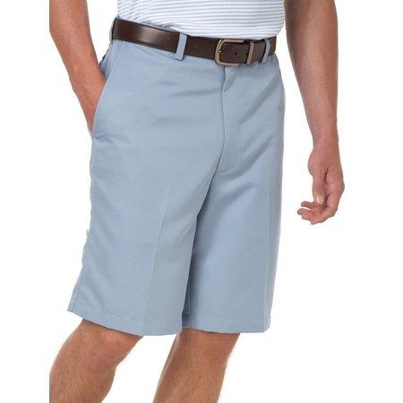 Haggar Mens Cool 18 Performance Wear Flat Front
