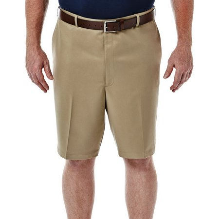 Haggar Mens Big & Tall Cool 18 Microfiber