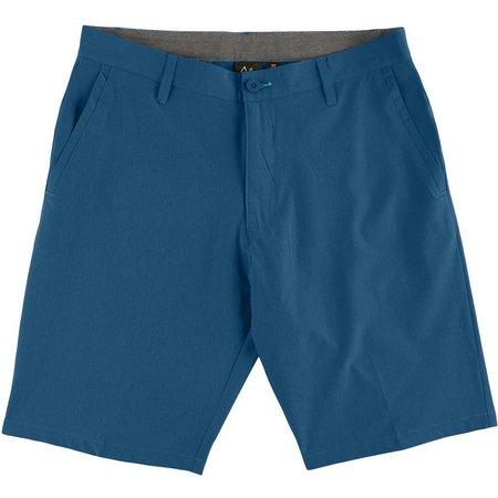 Burnside Mens Solid Hybrid Shorts