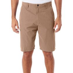 Hawke & Co. Mens Flat Front Stretch Shorts
