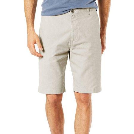 Dockers Mens Big & Tall Flat Front Shorts