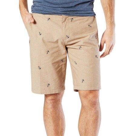 Dockers Mens Khaki Anchor Perfect Shorts