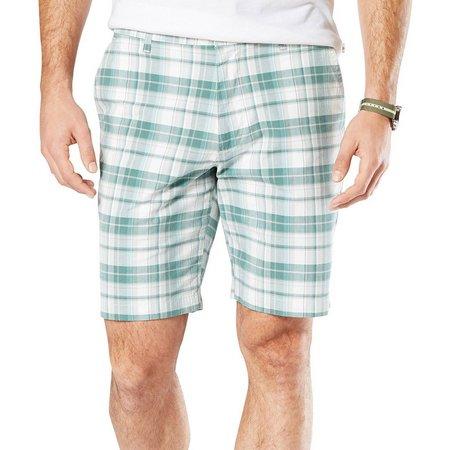 Dockers Mens The Perfect Plaid Shorts
