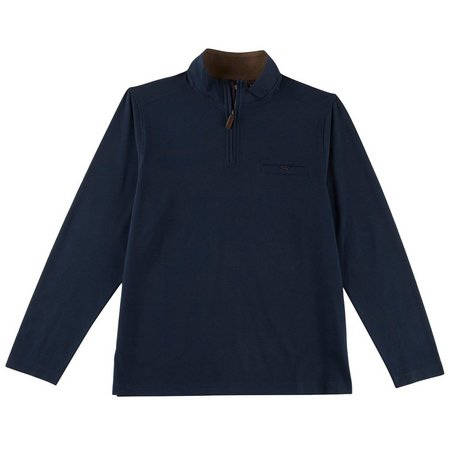 Age of Wisdom Mens Quarter Zip Pullover Jacket
