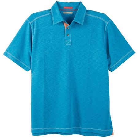 Age of Wisdom Mens Turquoise Polo Shirt